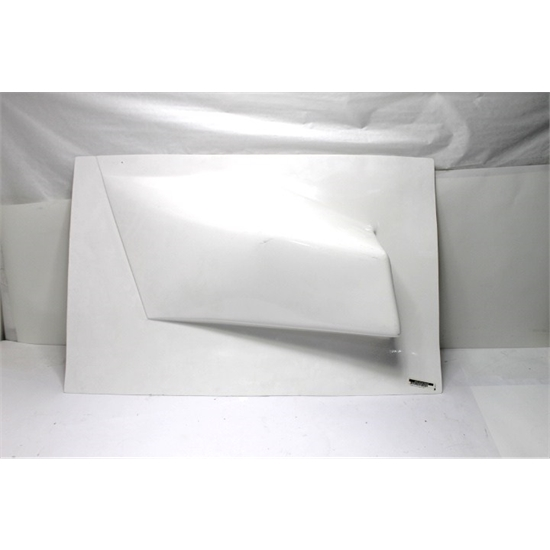 Garage Sale - Eagle Motorsports® RH Sprint Car Safety Armguard Panel, White
