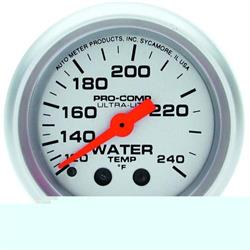 Auto Meter 4432 Ultra-Lite 2-5//8 120-240 F Mechanical Water Temperature Gauge