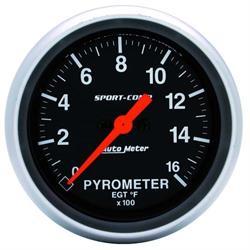 Garage Sale - Auto Meter 3544 Sport-Comp Digital Stepper Motor Pyrometer Gauge