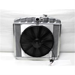 Garage Sale - Dewitts 4139012M 1955-57 Chevy/TRI-V Radiator Fan Combo, Manual