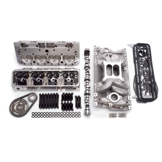 Garage Sale - Edelbrock 2097 Power Package Top End Engine Kit, Small Block Chevy