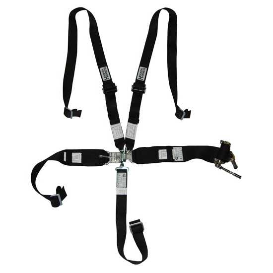 Garage Sale - Hooker Harness 5 Point Latch And Link Safety Belt, 2 Inch Shoulder Set