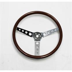 GT Performance 14-4337 GT3 Classic Wood Steering Wheel