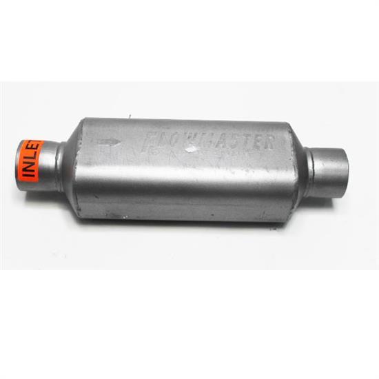 "Super HP-2 Muffler 2-1//2/"" X 12/"" Shorty 409 Stainless Flowmaster 12512409"
