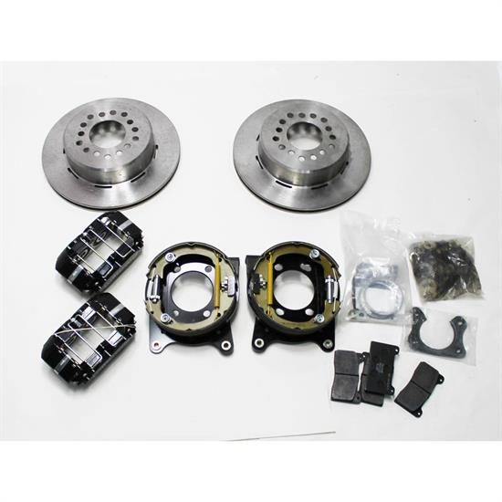 Garage Sale - Wilwood 140-13204 Dynapro Dust-Boot Rear Parking Brake Kit, Big Ford