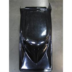 Black Slip-Stream Hood w/ Offset Air Inlets, WoO & ASCS Series, R