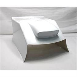 Stallard® Chassis 2006-08 Wide Snorkel Hood, White