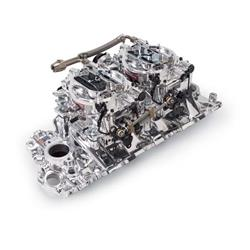 Edelbrock 20694 RPM Air-Gap Dual-Quad Intake Manifold/Carburetor