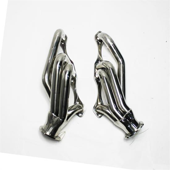 Garage Sale - 1955-57 Chevy Chassis Headers for Rack and Pinion, Stainless Steel