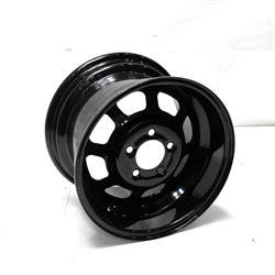 Garage Sale - Bassett 50SF2 15X10 D-Hole Lite 5 on 4.5 2 Inch Backspace Black Wheel
