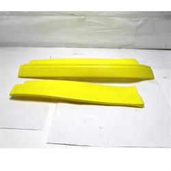 Garage Sale - Yellow MD3 Max Downforce 2-Piece Left Side Air Valance