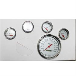 Garage Sale - 5 Gauge Set with 5 Inch Programmable Speedometer