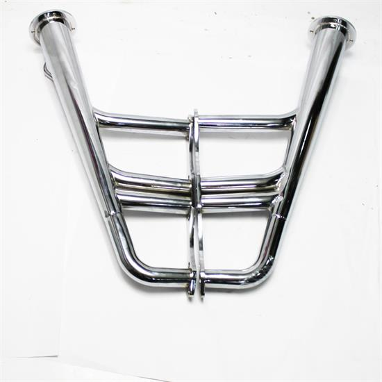 Garage Sale - Small Block Chevy Lake Style Headers, Chrome