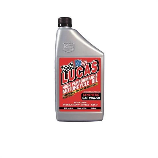 Garage Sale - Lucas Oil 10702 SAE 20W50 Motorcycle Oil, 1 Quart