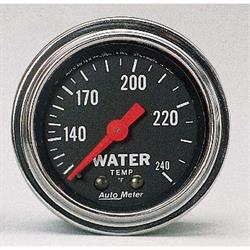 Garage Sale - Auto Meter 2432 Traditional Chrome Mechanical Water Temperature Gauge
