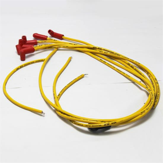 Accel 8024 8.8mm Spark Plug Wires-90 Degree Boot-Solid Core ... on solid aluminum wire, solid copper wire, solid vs stranded electrical wire, no 12 gauge solid wire,