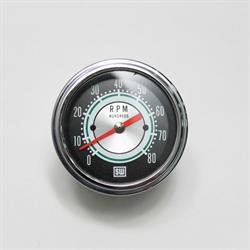 Stewart Warner 531CC Green Line 8, 000 RPM Tachometer, 3-3/8 Inch