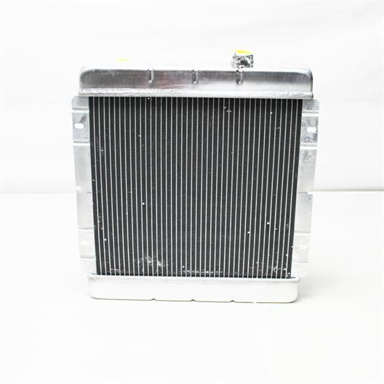 Garage Sale - Speedway 1964-66 Mustang Radiator - Passenger Side Water Necks
