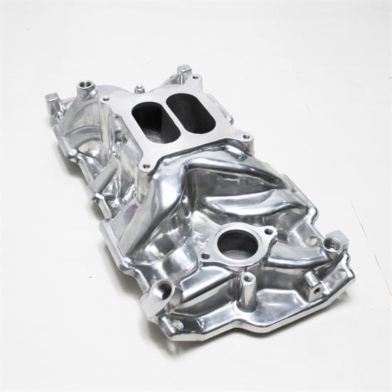 Garage Sale - Speedway 1957-86 Small Block Chevy Polished Hi-Rise Intake Manifolds