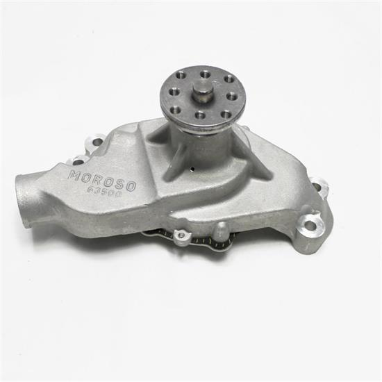 Moroso 63500 Cast Aluminum Water Pump for Small Block Chevy