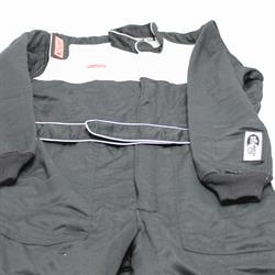 Garage Sale - Simpson Sportsman Elite II Racing Suit-One Piece-Double Layer, Black. Large