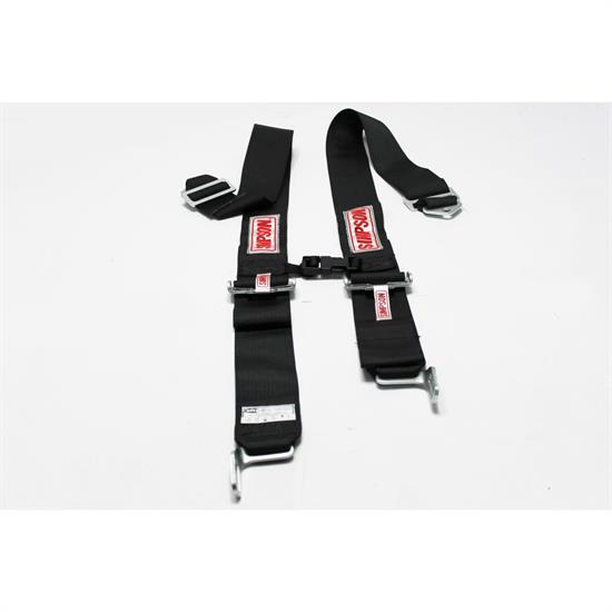 Garage Sale - Simpson Shoulder Harnesses with Sternum Protector, Latch Link, Black