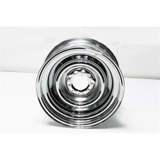 Garage Sale - 15x7 Inch Steel Smoothie Wheel, Chrome