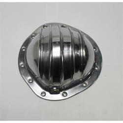 Garage Sale - Finned Pol Alum Rearend Differential Cover, GM Truck, 8.75 In 12 Bolt