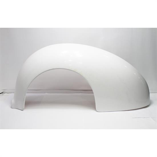 1938-40 Ford Fiberglass Rear Fenders, Stock Width, Left Side