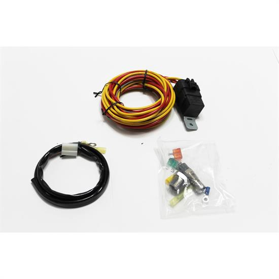 Peachy Garage Sale Spal Thermoswitch Relay And Wiring Harness Kit 185 Wiring Digital Resources Otenewoestevosnl