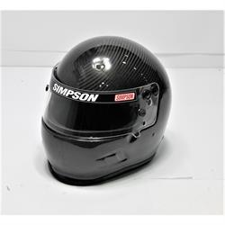 Garage Sale - Simpson FIA Air Vudo Carbon SA15 Racing Helmet, Size 7 3/4