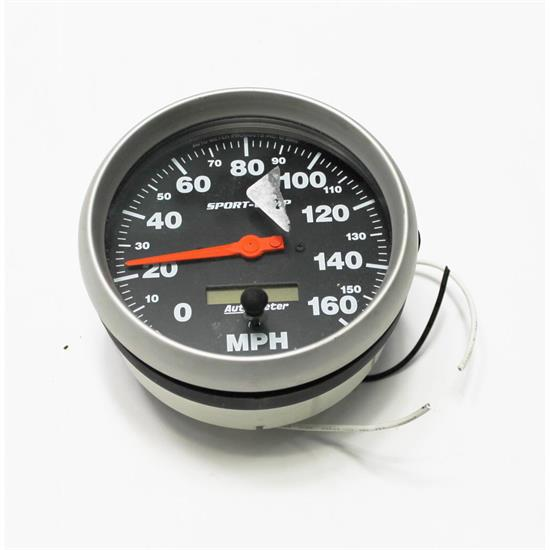 Garage Sale - Auto Meter 3989 Sport-Comp Air-Core Speedometer, 160 MPH, 5 Inch