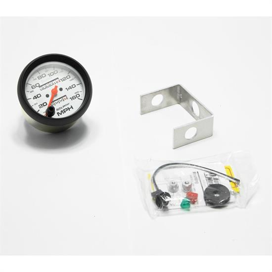 Garage Sale - Auto Meter 5893 Phantom Mechanical Speedometer, 160 MPH, 3-3/8 Inch