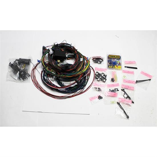 1969 mustang wiring harness painless wiring 20122 1969 1970 mustang 22 circuit wiring harness  painless wiring 20122 1969 1970 mustang