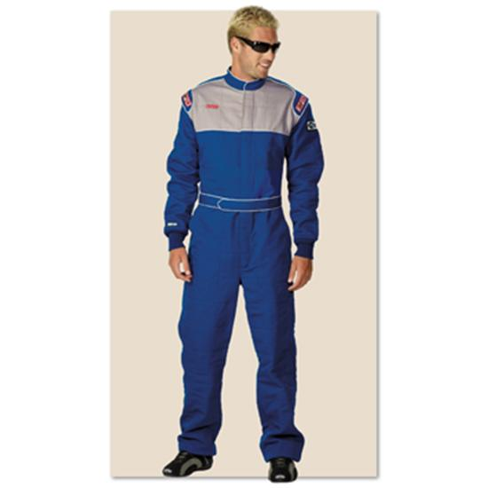 Garage Sale-Simpson Sportsman Elite II Racing Suit Blue Large