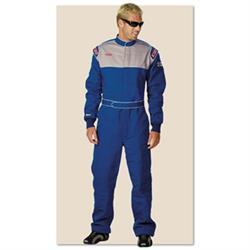 Garage Sale-Simpson Sportsman Elite II Racing Suit Blue Large