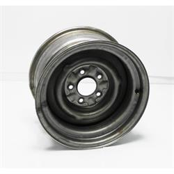 Garage Sale - O/E Style Hot Rod Steel 15 Inch Wheel, Raw Finish, 15 x 8, 5 on 4-3/4