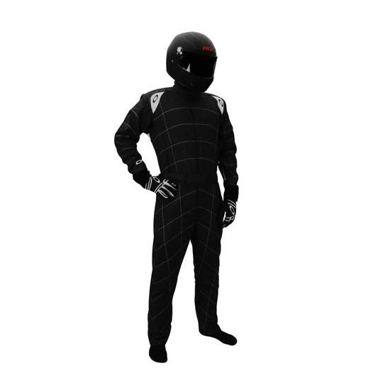 Garage Sale - Oakley Coilover 2 One Piece Double Layer Racing Suit, Black, Small