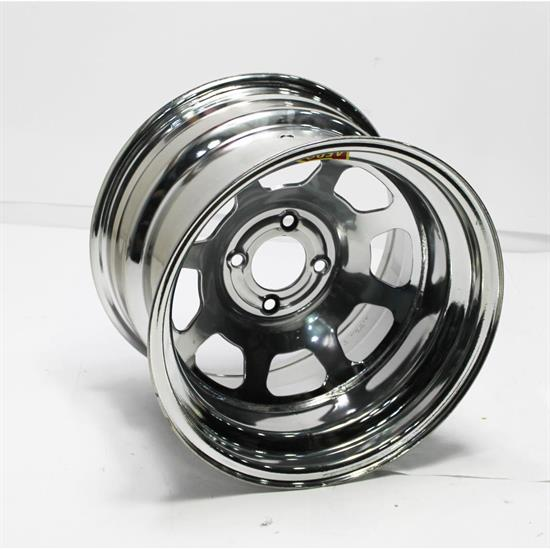 Garage Sale - Aero 55-204240 55 Series 15x10 Wheel, 4-lug, 4 on 4-1/4 BP, 4 Inch BS
