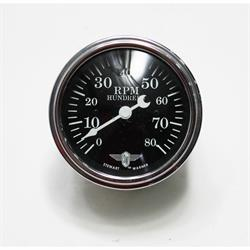 Garage Sale - Stewart Warner 82660 Wings Tach, Black