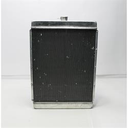 Garage Sale - Universal Aluminum Radiator - 27 Inch Tall, Passenger Side Outlet