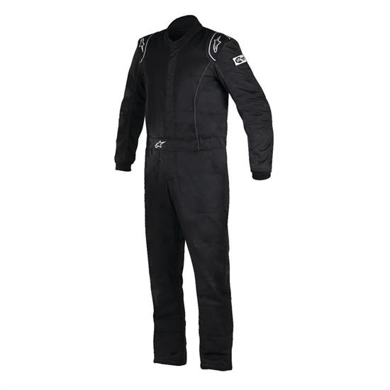 Garage Sale - Alpinestars 3355916-10-66 Knoxville Racing Suit, SFI 3.2A/5, Black/66