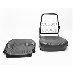 Garage Sale - Low Back Vinyl Bucket Seats, Black, Left Hand