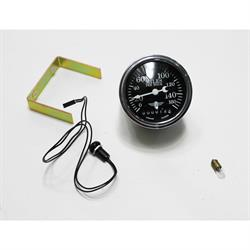 Garage Sale - Stewart Warner 82663 Wings Mechanical Speedometer, Black