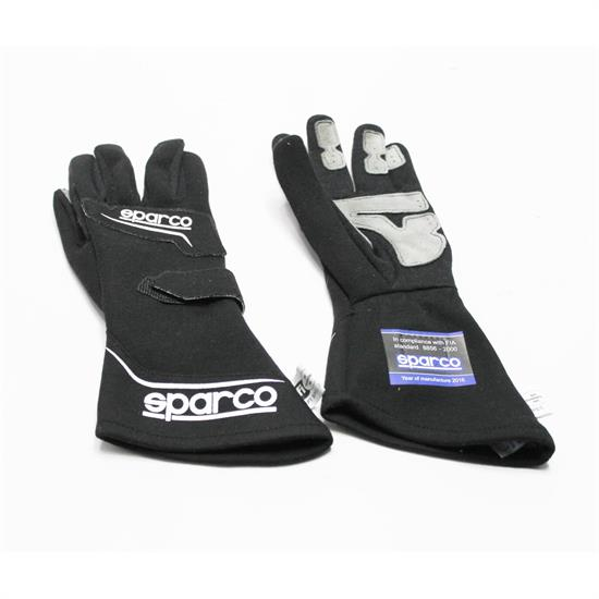 Sparco Rocket RG4 Gloves, Black, Medium