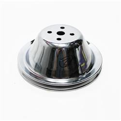 Garage Sale - Small Block Chevy Aluminum Double Upper Pulley, Short Pump