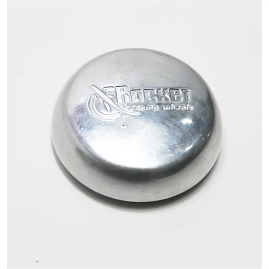 Garage Sale - Rocket Racing Wheels RC1-01501 Polished Dome Center Cap