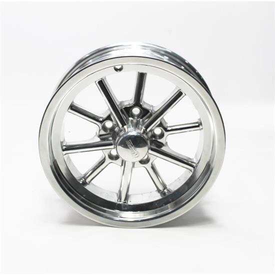 Garage Sale - Rocket Racing Wheels Launcher Series 15X4.5 Wheel, 5x4.75 BP, 2.25 BS, Polished