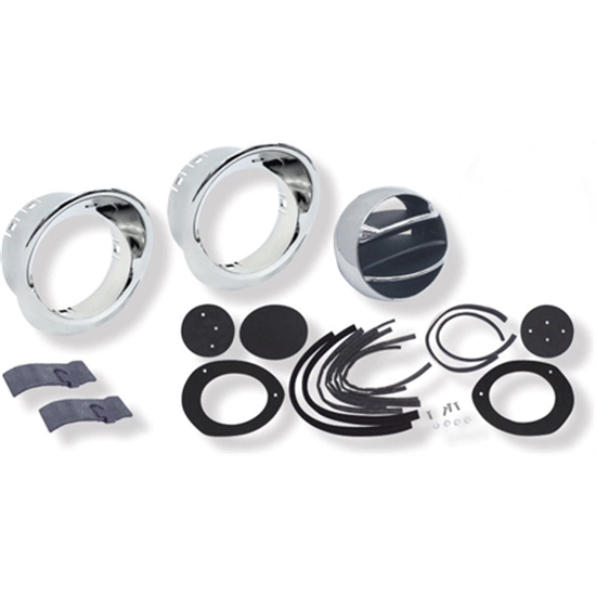 Garage Sale - OER R566 Dash Astro Vents, 67-68 Camaro, Complete Kit