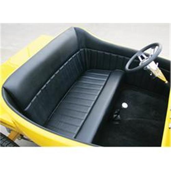 Garage Sale - T-Bucket Black Interior Kit For 1923 Standard Body W Unchanneled Floor